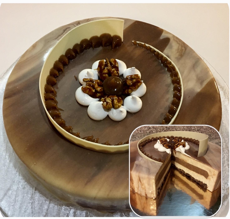 Modern cake - Scent of Autumn